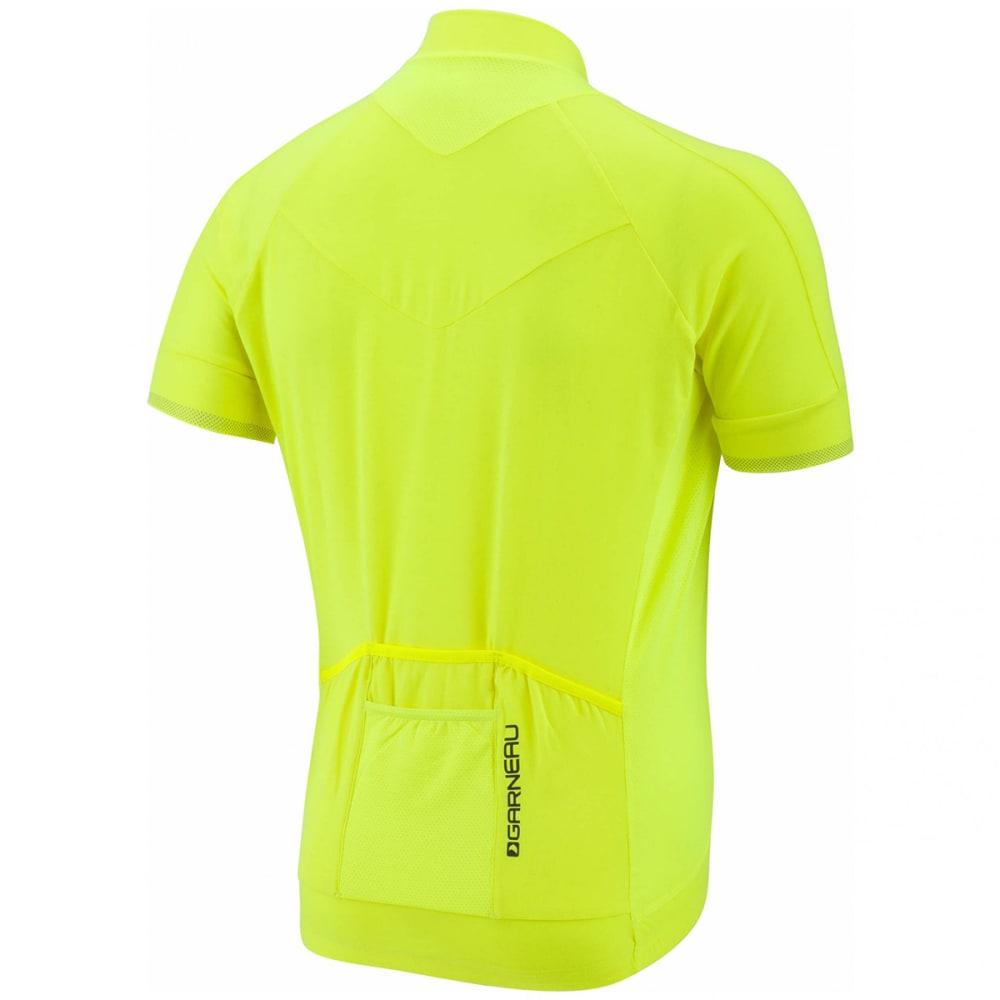 LOUIS GARNEAU Men's Lemmon 2 Short-Sleeve Cycling Jersey - BRIGHT YELLOW