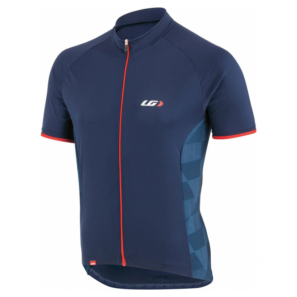 LOUIS GARNEAU Men's Zircon 2 Short-Sleeve Cycling Jersey - MINIMALIST