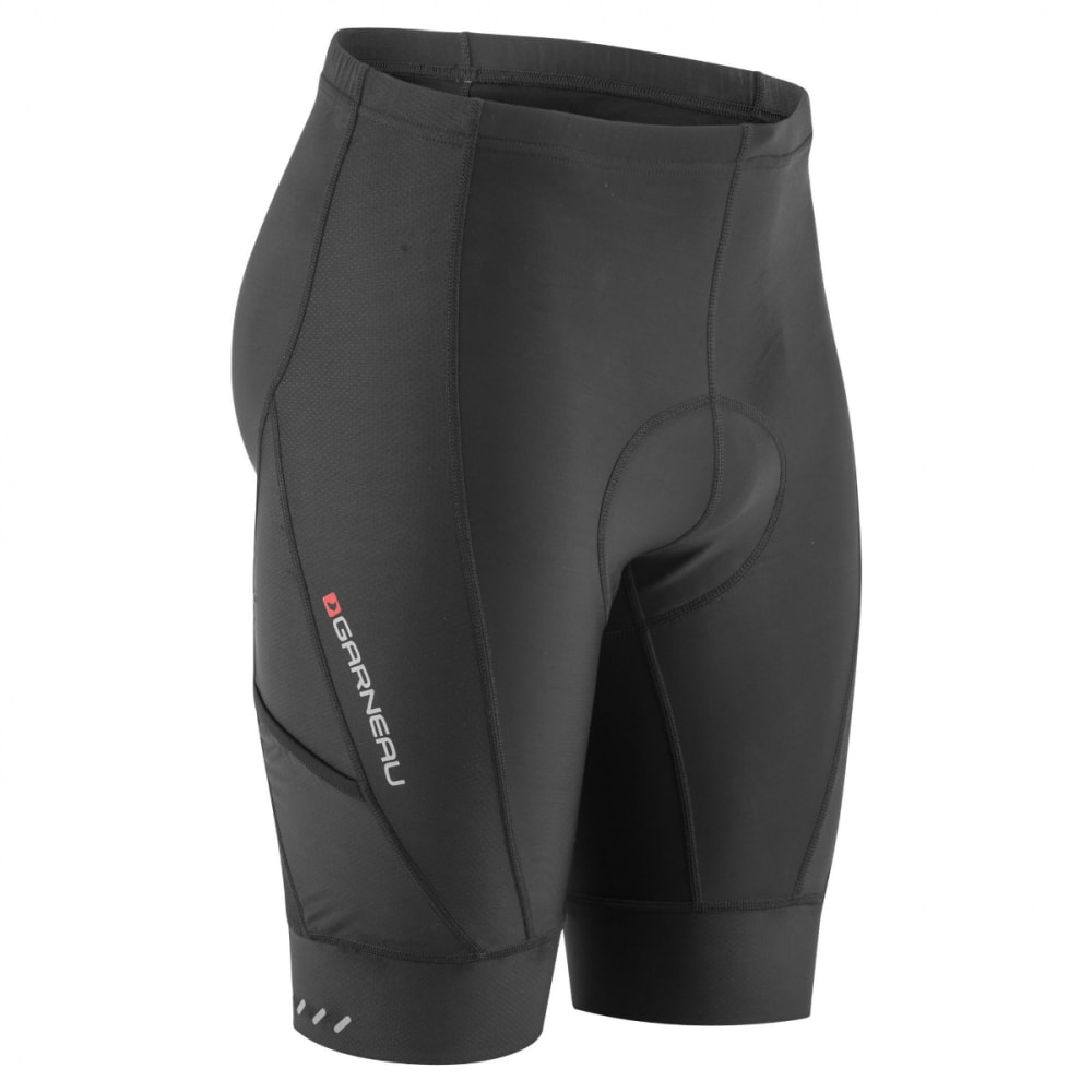 LOUIS GARNEAU Men's Optimum Cycling Shorts - BLACK