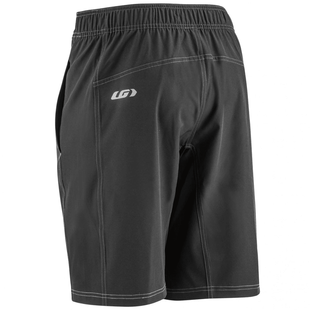 LOUIS GARNEAU Men's Range Cycling Shorts - BLACK