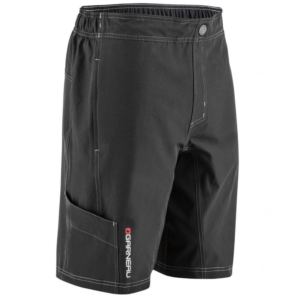LOUIS GARNEAU Men's Range Cycling Shorts - BLACK