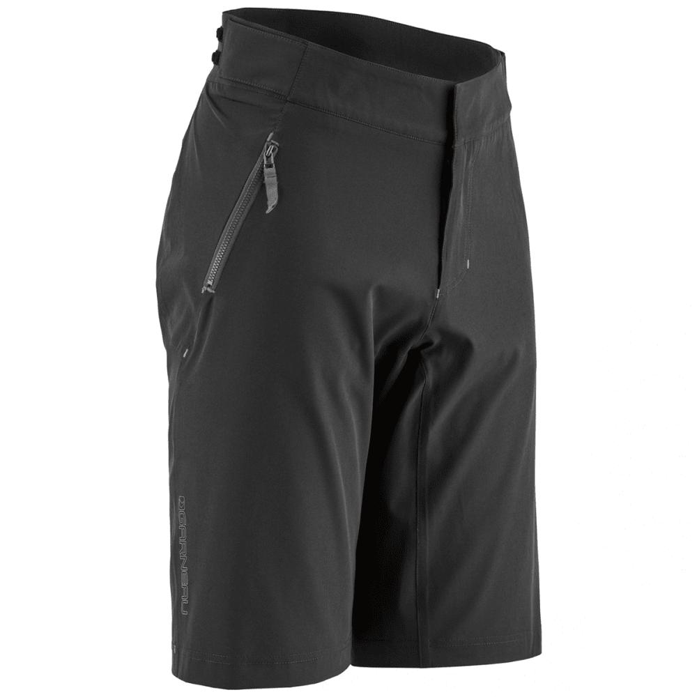 LOUIS GARNEAU Men's Leeway Cycling Shorts - BLACK