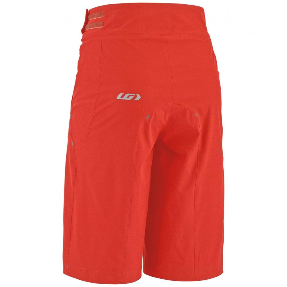 LOUIS GARNEAU Men's Leeway Cycling Shorts - FLAME