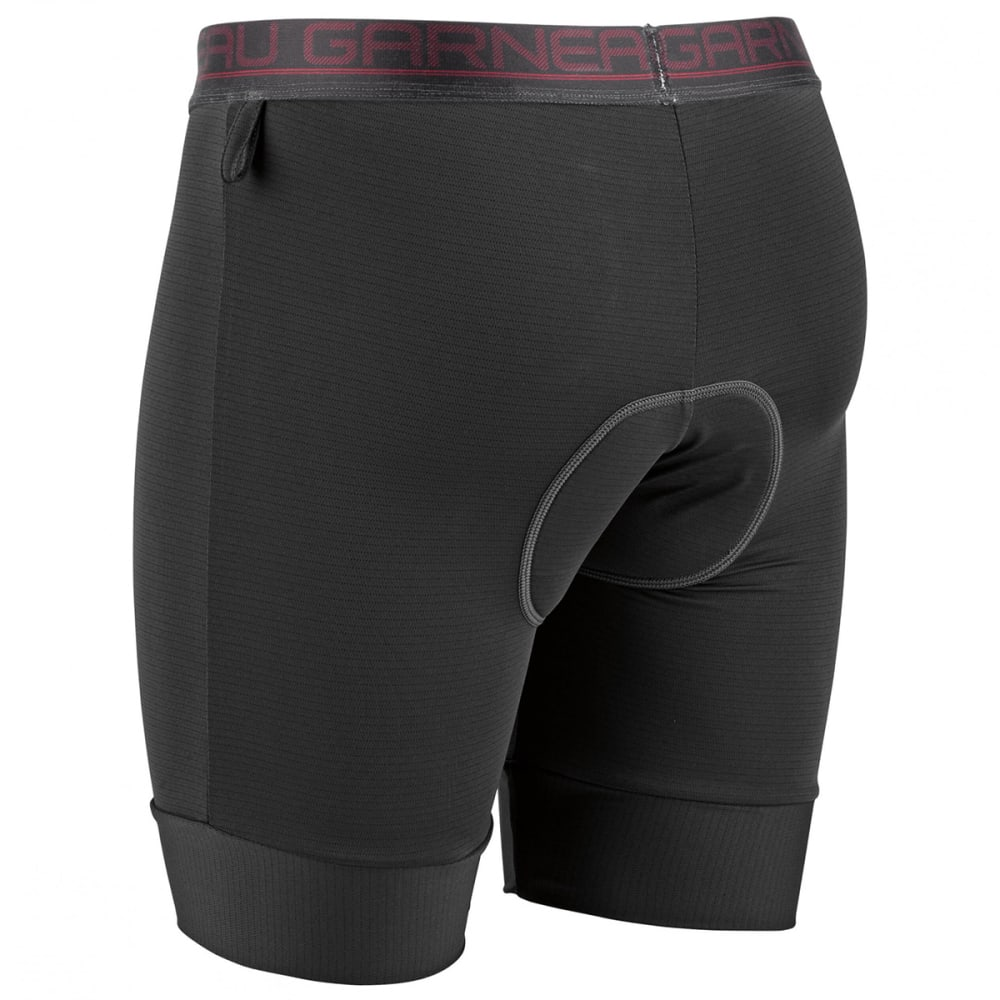 LOUIS GARNEAU 2002 Sport Innercycling Shorts - BLACK/RED