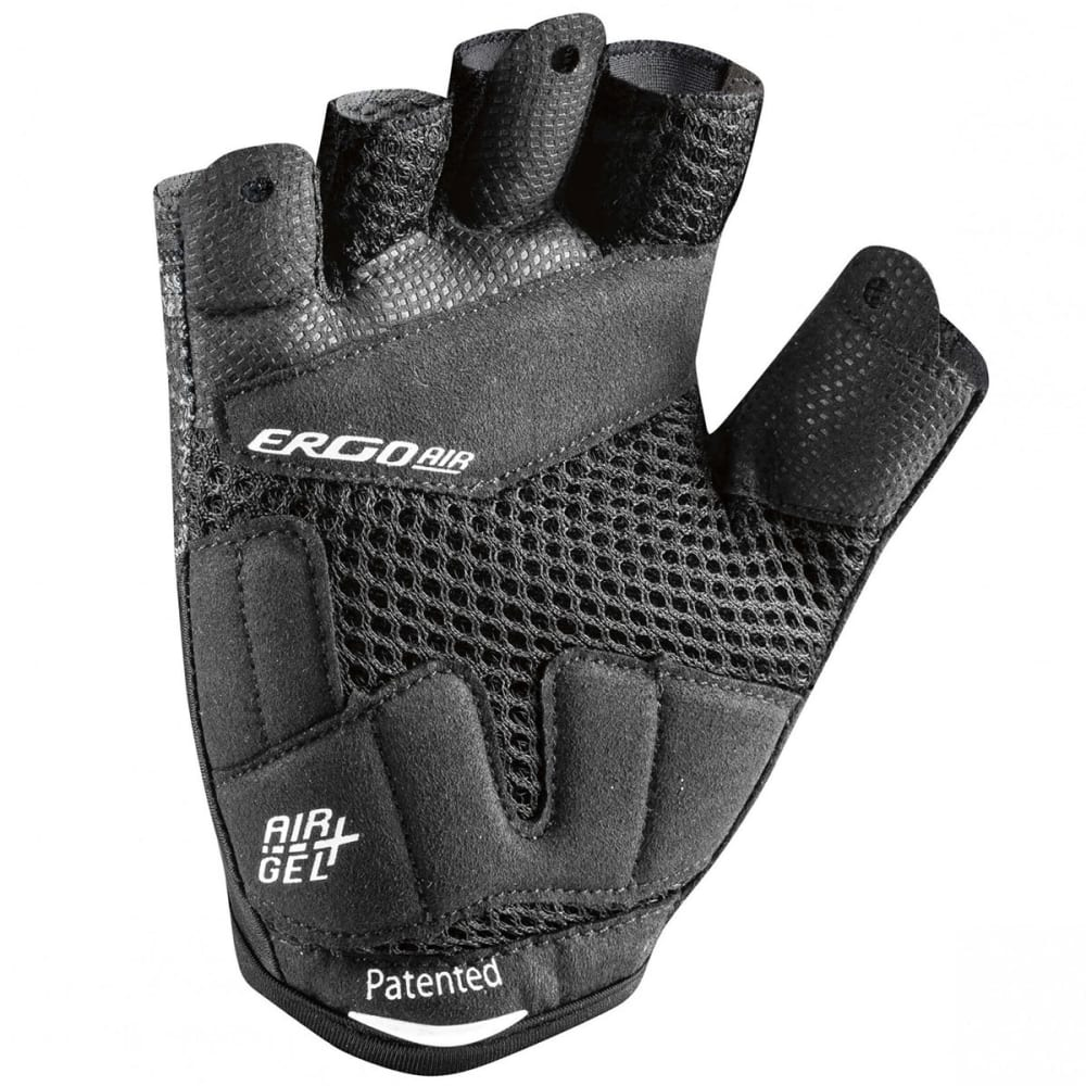 LOUIS GARNEAU Men's Air Gel + Cycling Gloves - BLACK
