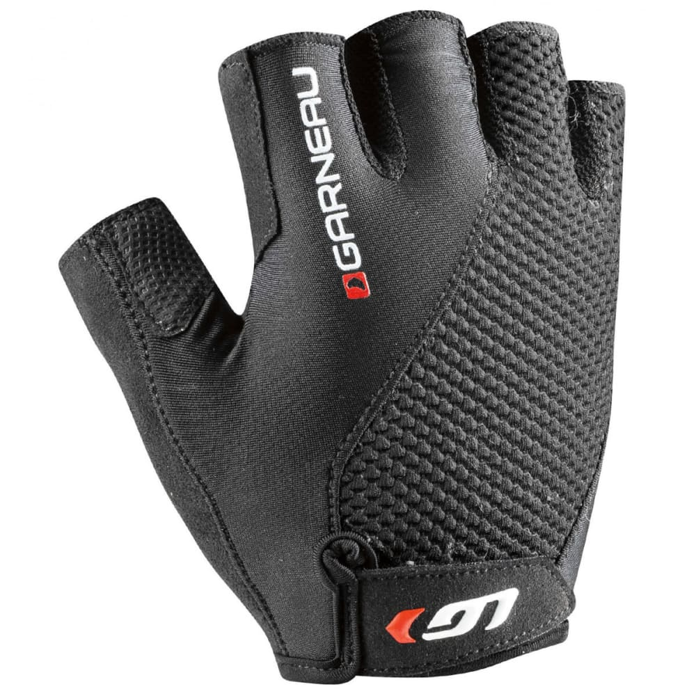 LOUIS GARNEAU Men's Air Gel + Cycling Gloves - BLACK