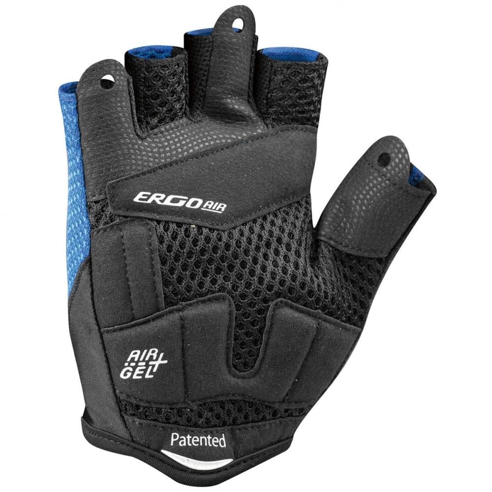LOUIS GARNEAU Men's Air Gel + Cycling Gloves - CURACAO BLUE