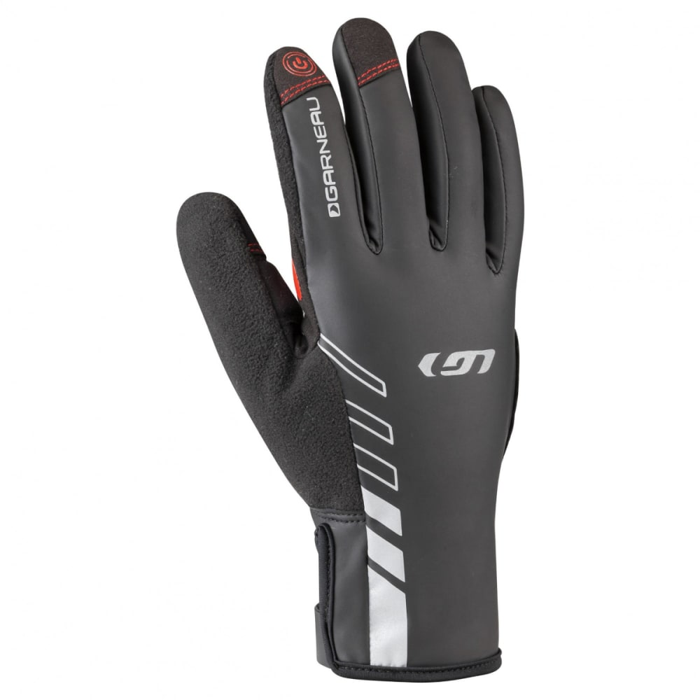 LOUIS GARNEAU Men's Rafale 2 Cycling Gloves - BLACK