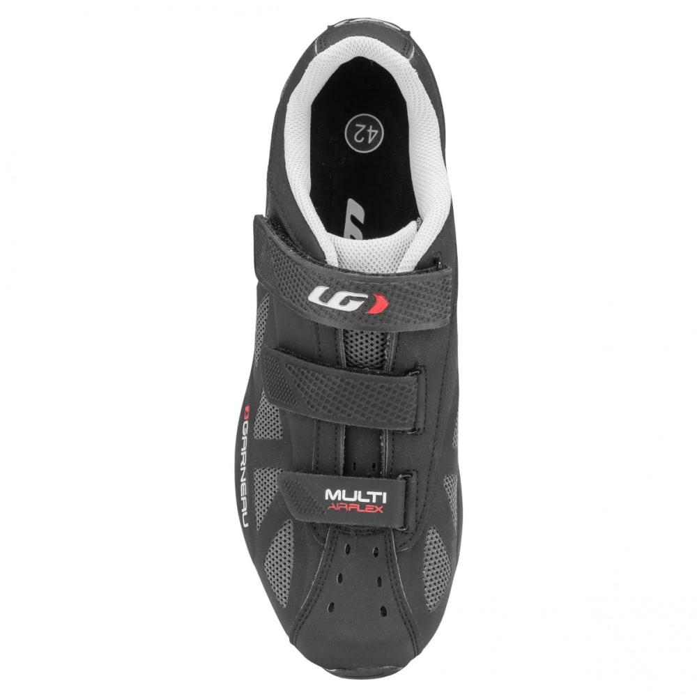 LOUIS GARNEAU Multi Air Flex Cycling Shoes - BLACK/RED