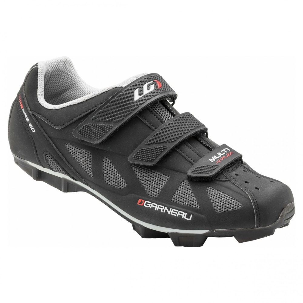 LOUIS GARNEAU Multi Air Flex Cycling Shoes - BLACK/RED