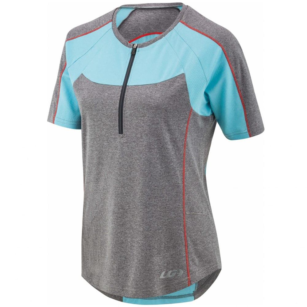 Louis Garneau Women's Icefit Zip-T Cycling Jersey - Blue
