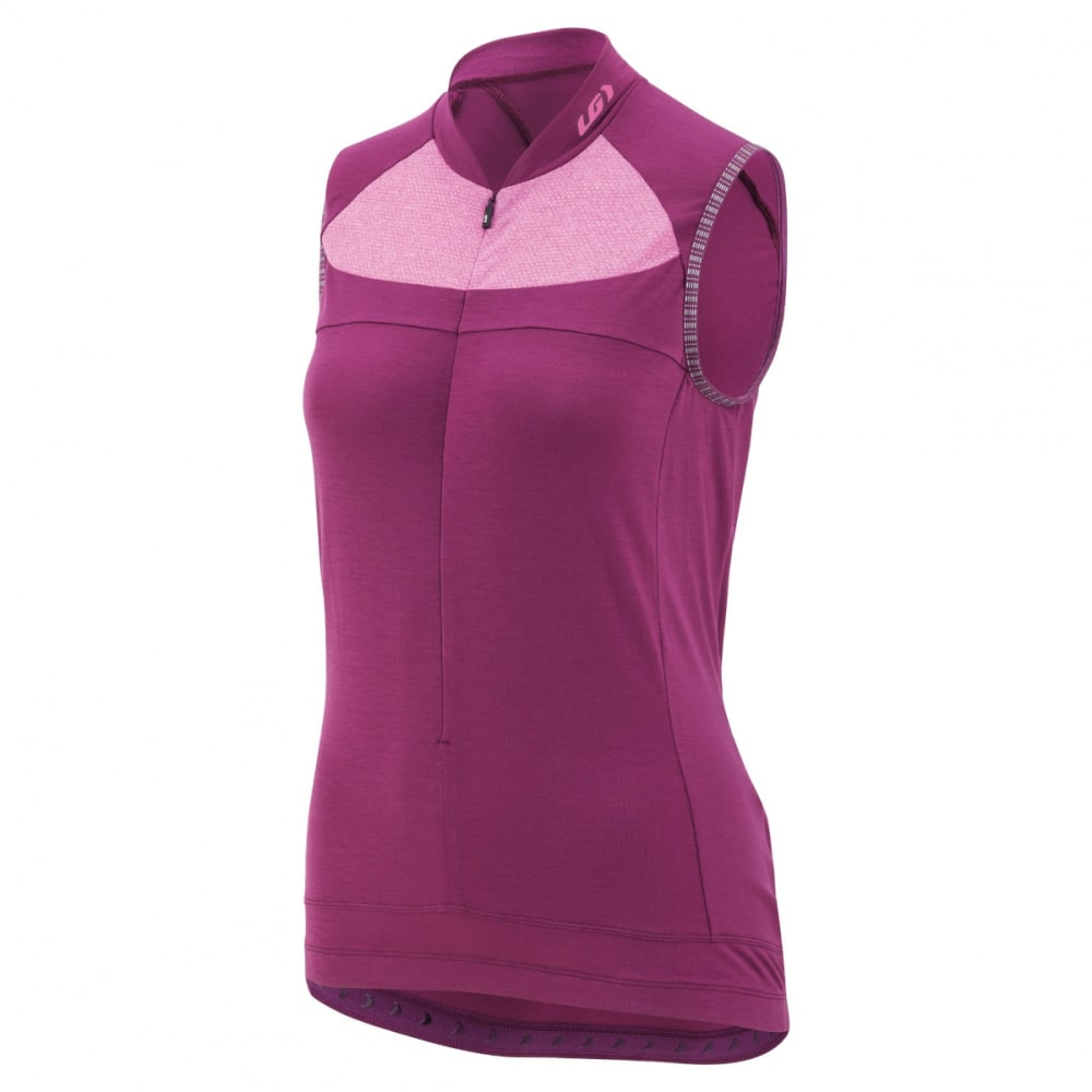 LOUIS GARNEAU Women's Beeze 2 Sleeveless Cycling Jersey - MAGENTA PURPLE