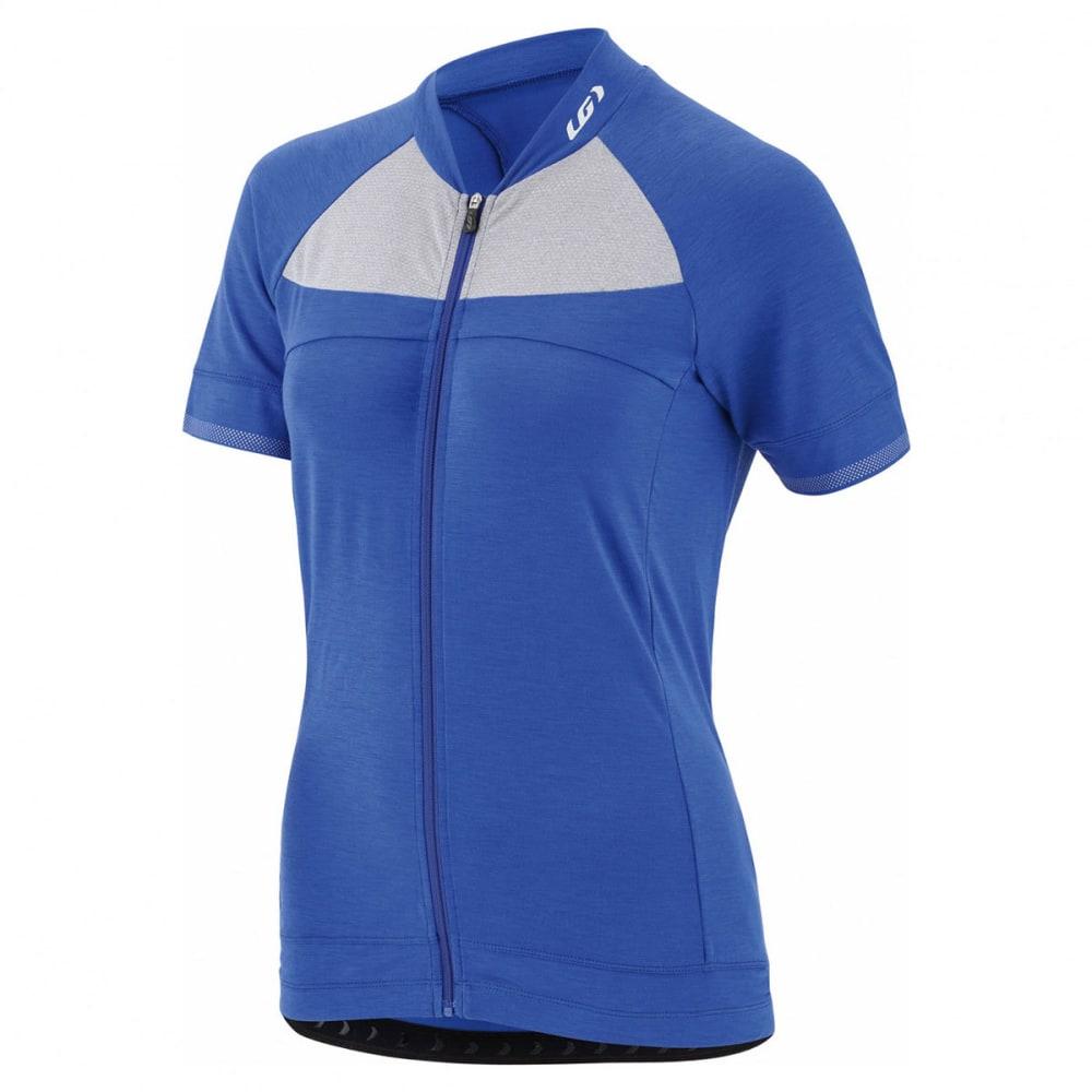 LOUIS GARNEAU Women's Beeze 2 Short-Sleeve Cycling Jersey - DAZZLING BLUE