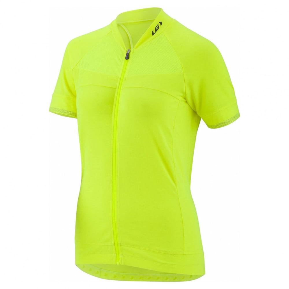 LOUIS GARNEAU Women's Beeze 2 Short-Sleeve Cycling Jersey - BRIGHT YELLOW