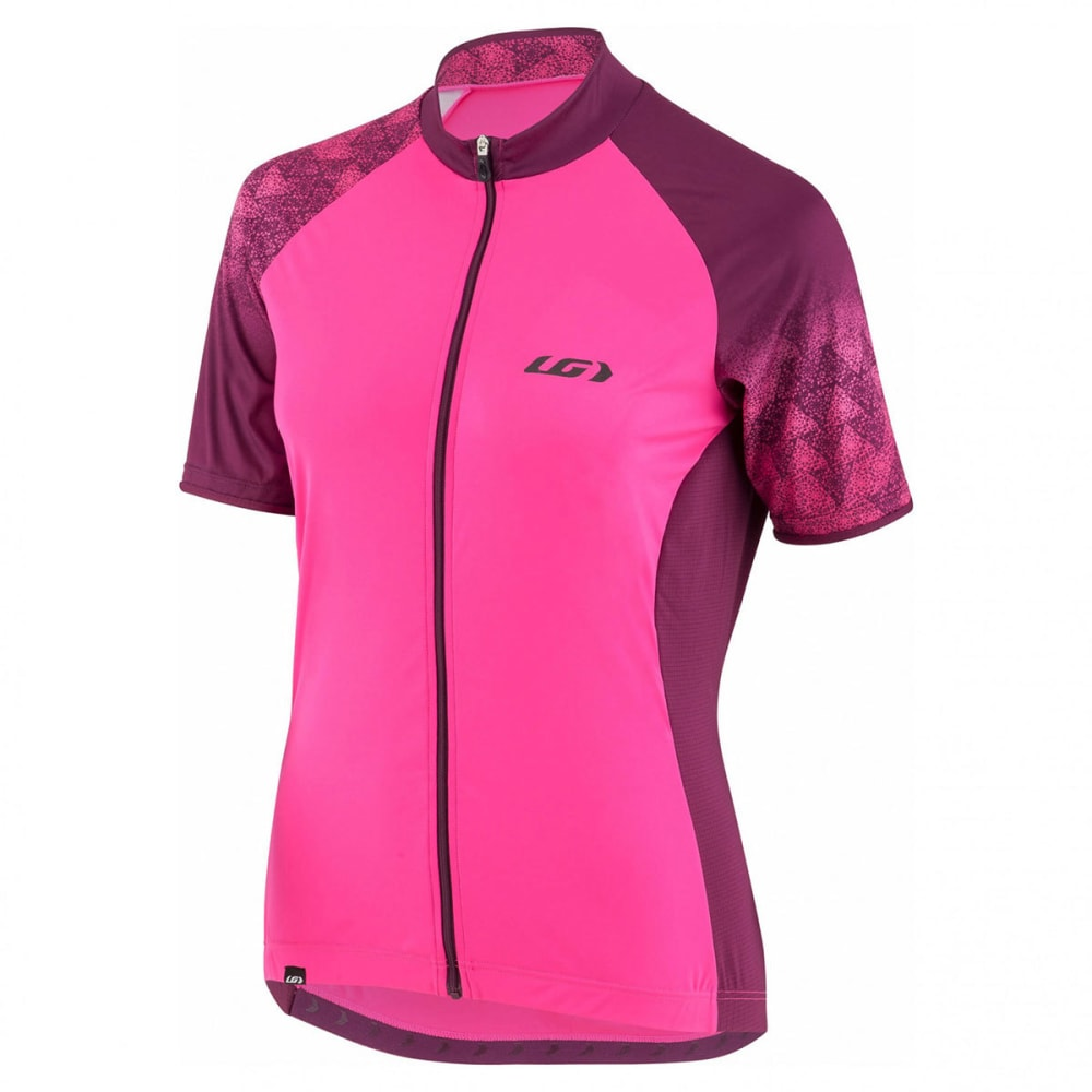 LOUIS GARNEAU Women's Zircon 2 Short-Sleeve Cycling Jersey XS