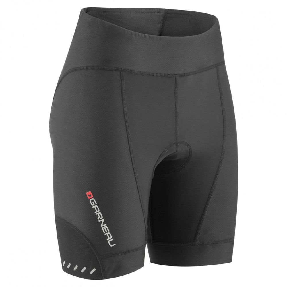 LOUIS GARNEAU Women's Optimum 7 Cycling Shorts - BLACK