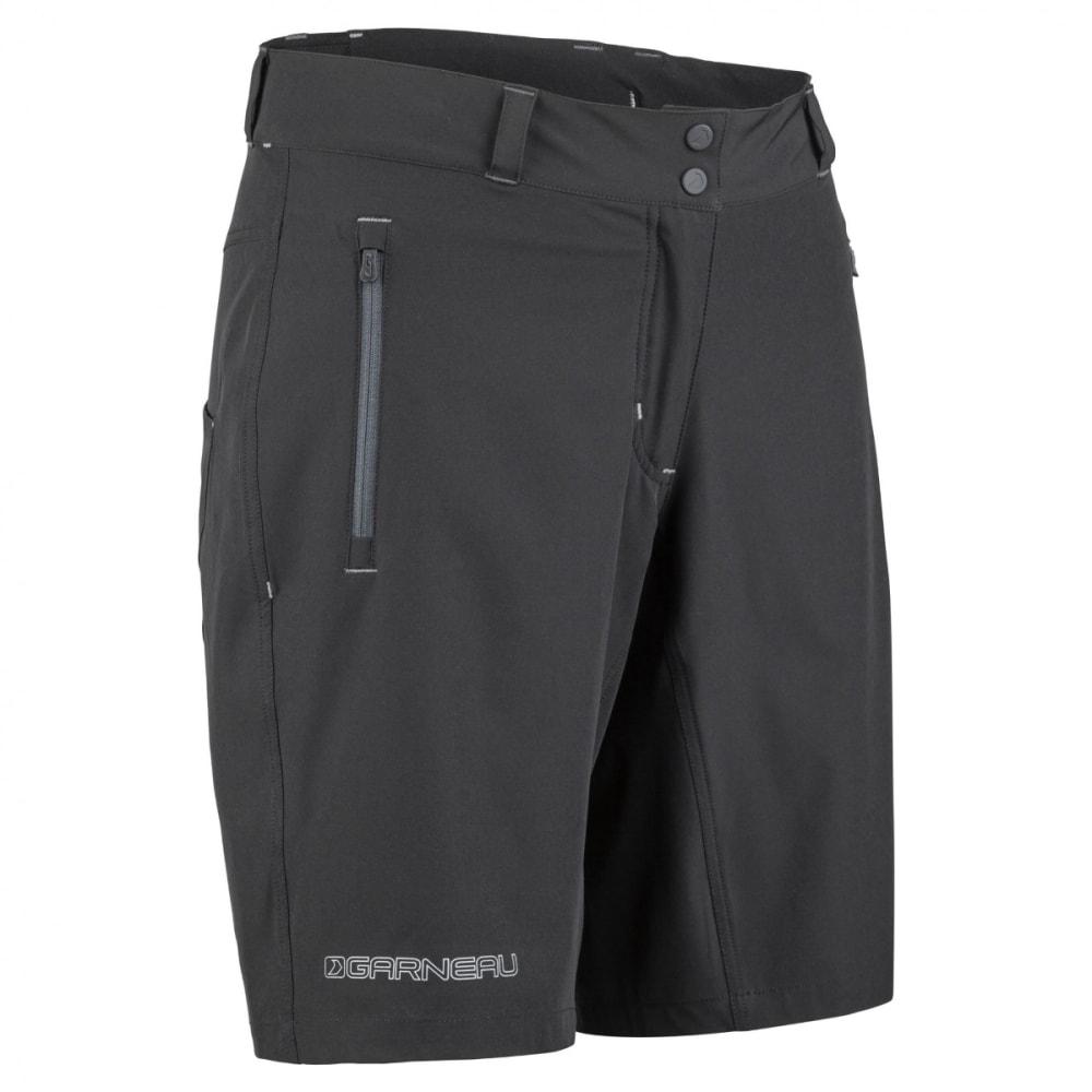 LOUIS GARNEAU Women's Latitude Cycling Shorts - BLACK