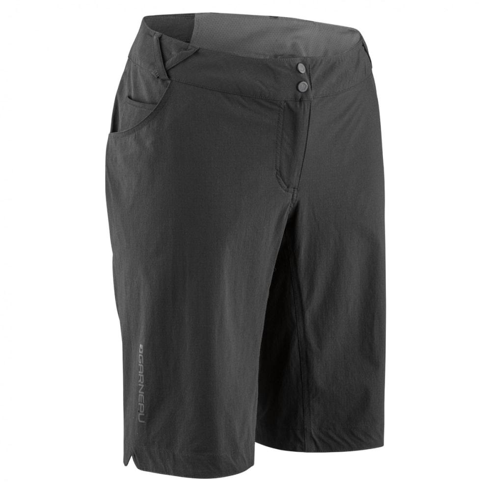 LOUIS GARNEAU Women's Connector Cycling Shorts - BLACK