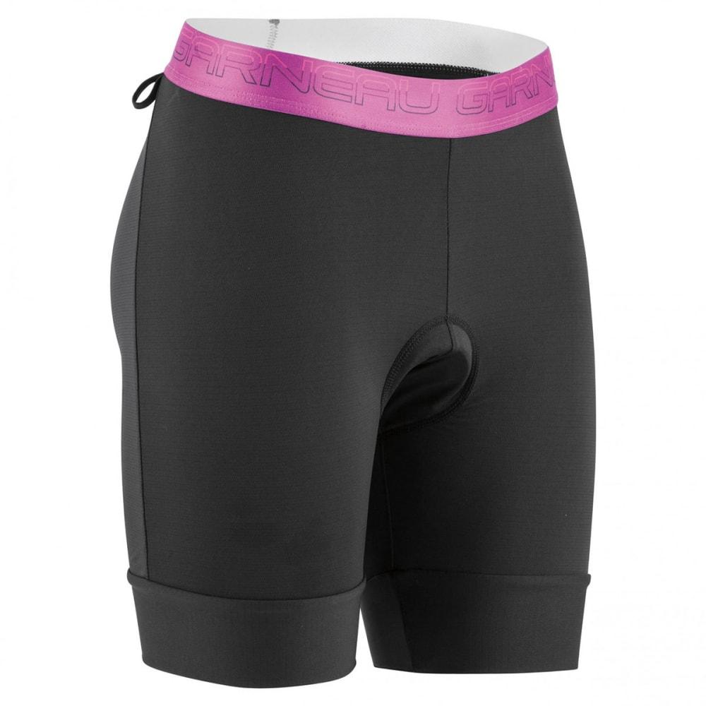 LOUIS GARNEAU Women's 2002 Sport Inner Cycling Shorts - BLACK