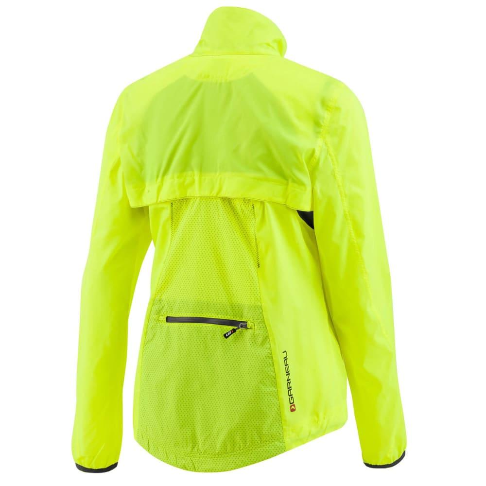 LOUIS GARNEAU Women's Cabriolet Cycling Jacket - BRIGHT YELLOW