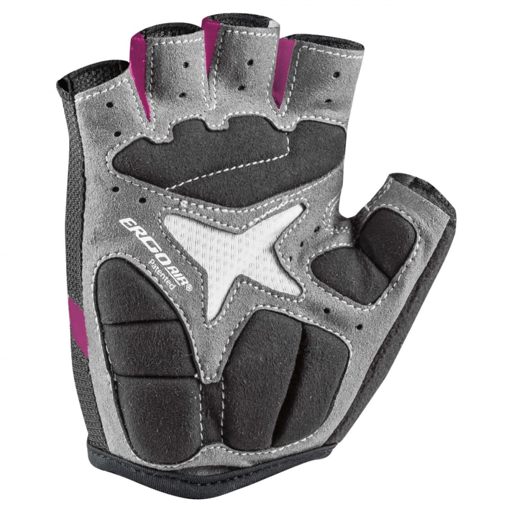 LOUIS GARNEAU Women's Biogel RX-V Cycling Gloves - FUSCHIA FESTIVAL