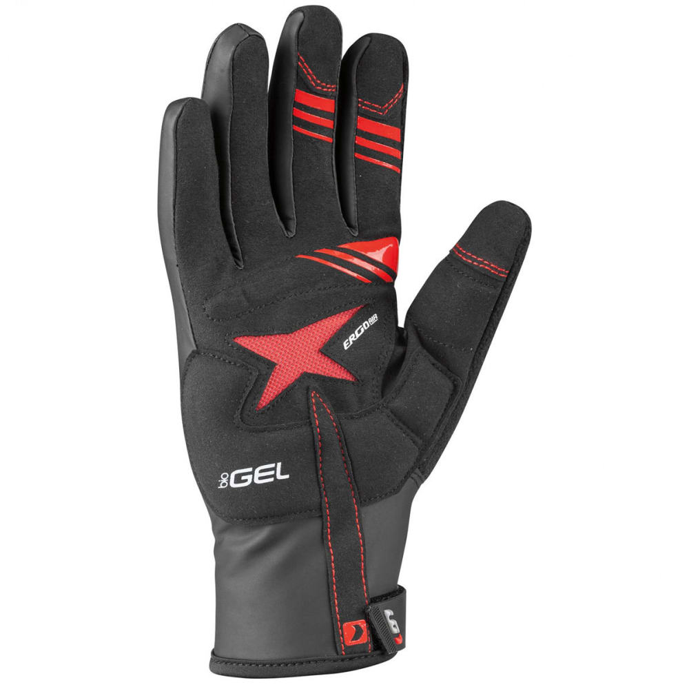 LOUIS GARNEAU Women's Rafale 2 Cycling Gloves - BLACK