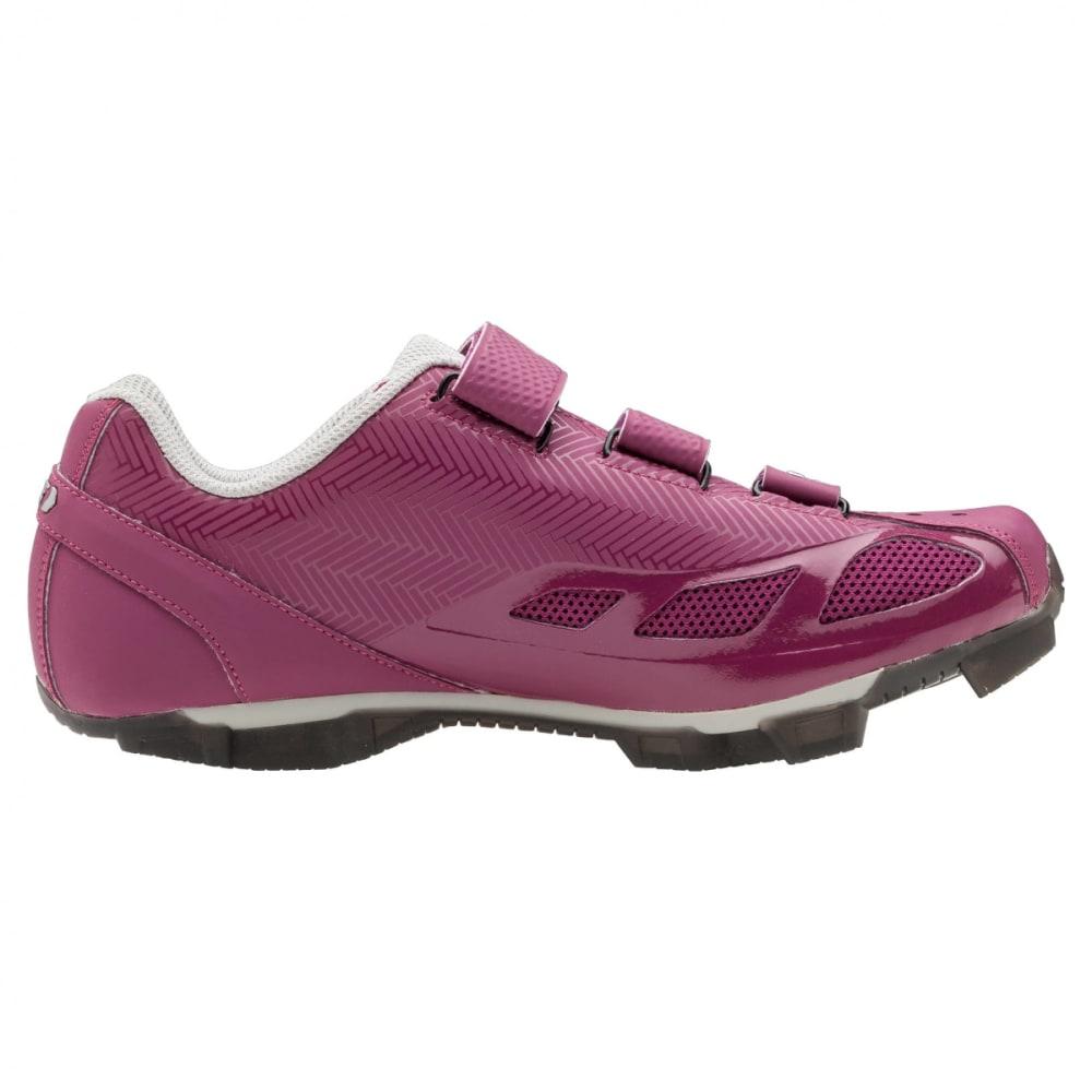 af069a33d LOUIS GARNEAU Women's Multi Air Flex Cycling Shoes - MAGENTA/DRIZZLE