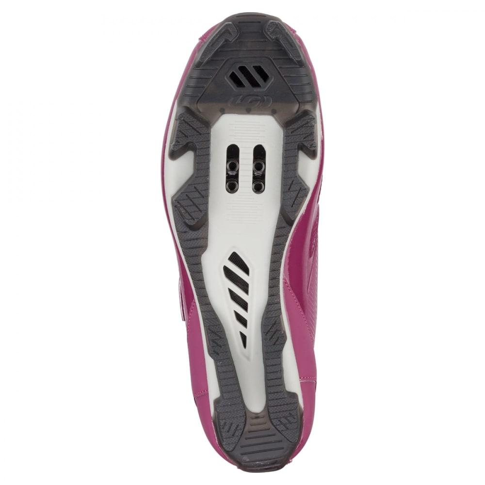 LOUIS GARNEAU Women's Multi Air Flex Cycling Shoes - MAGENTA/DRIZZLE