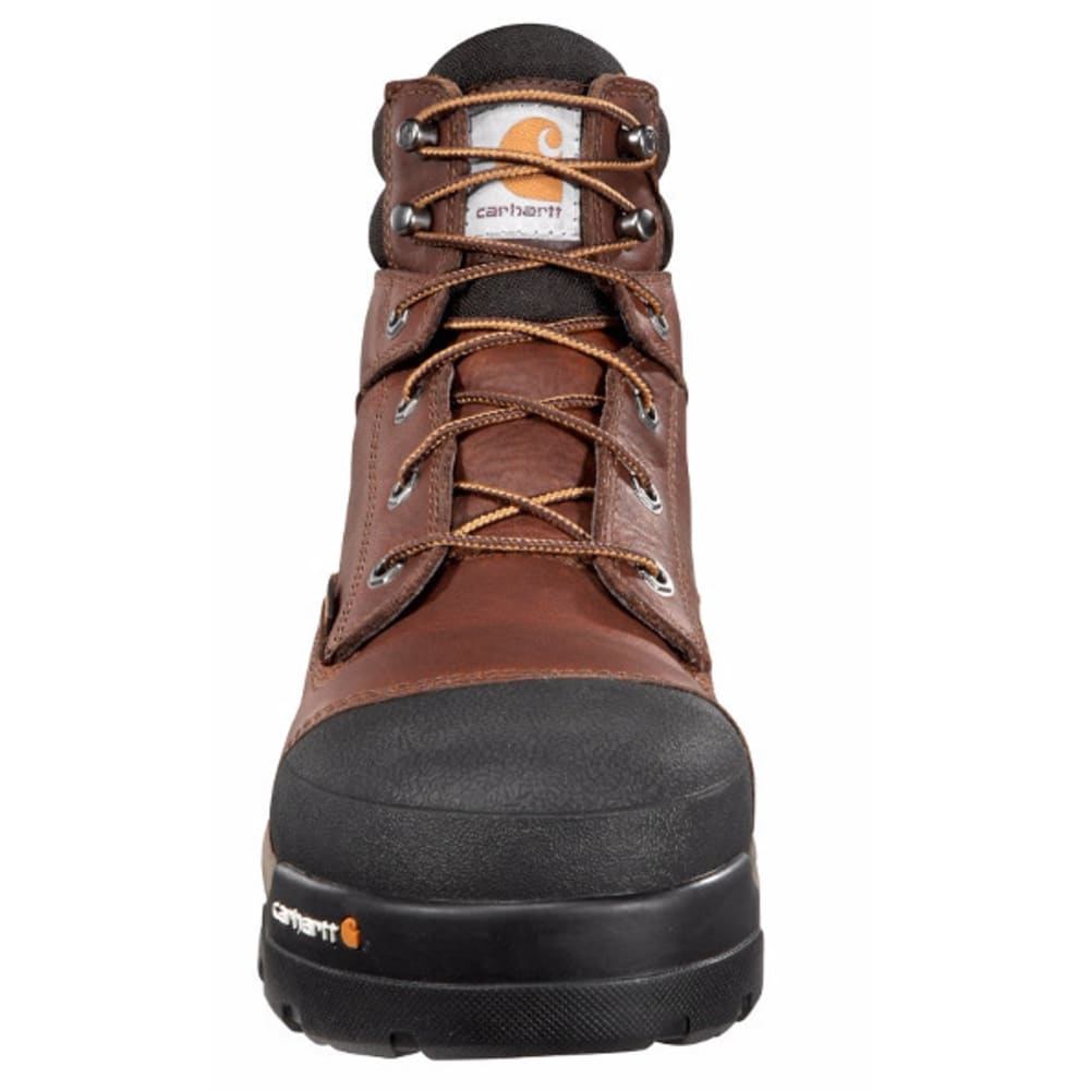 CARHARTT Men's 6-Inch Ground Force Work Boots, Brown - PEANUT OIL TAN LTHR