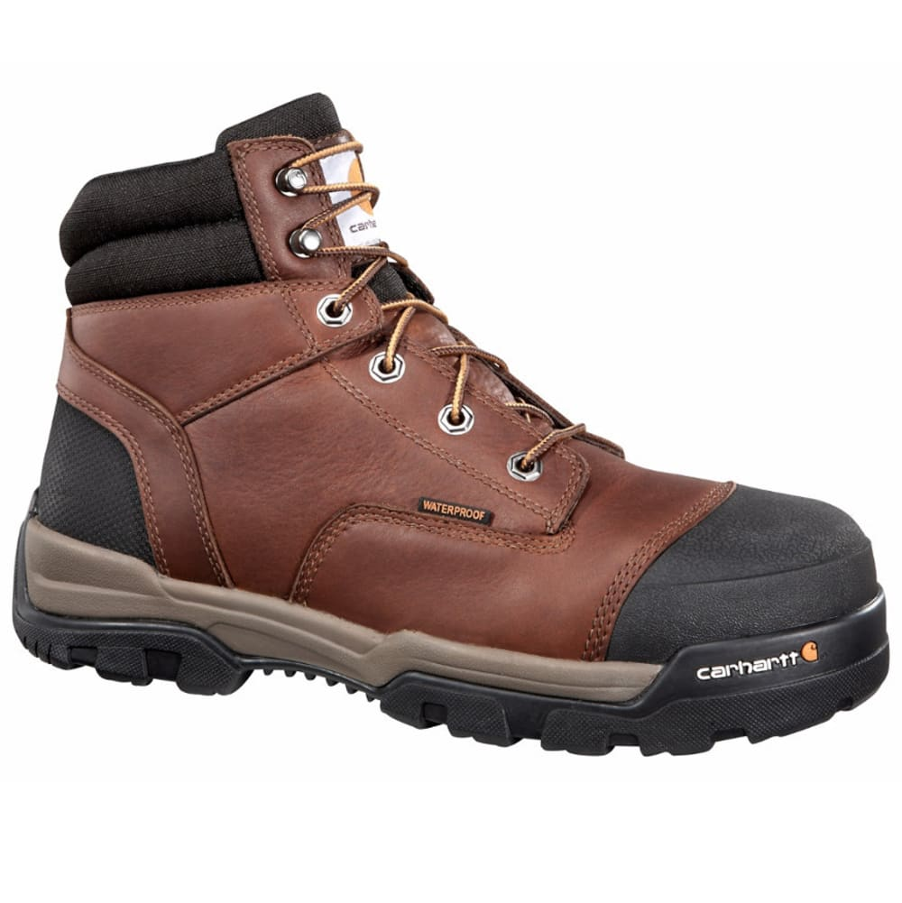 CARHARTT Men's 6-Inch Ground Force Work Boots, Brown 8