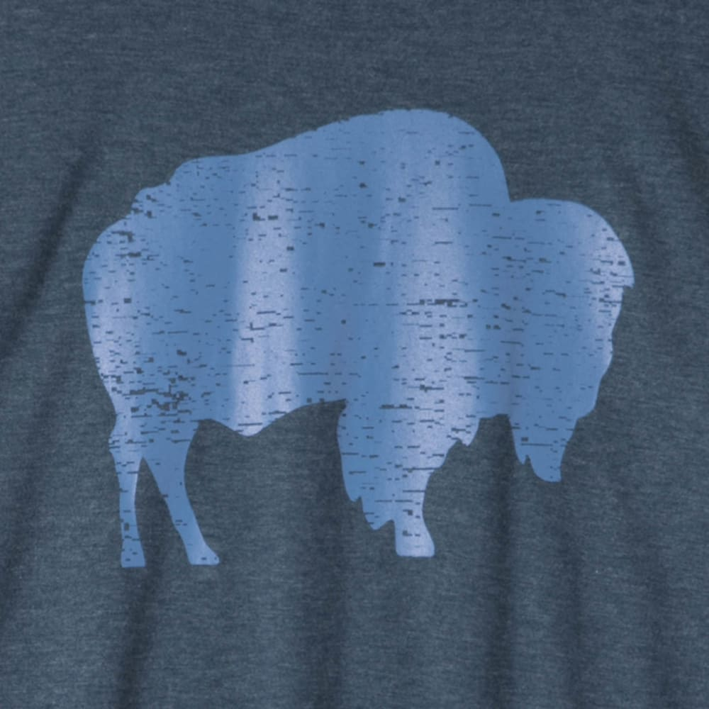 MOUNTAIN KHAKIS Men's Bison T-Shirt - 653 TWILIGHT