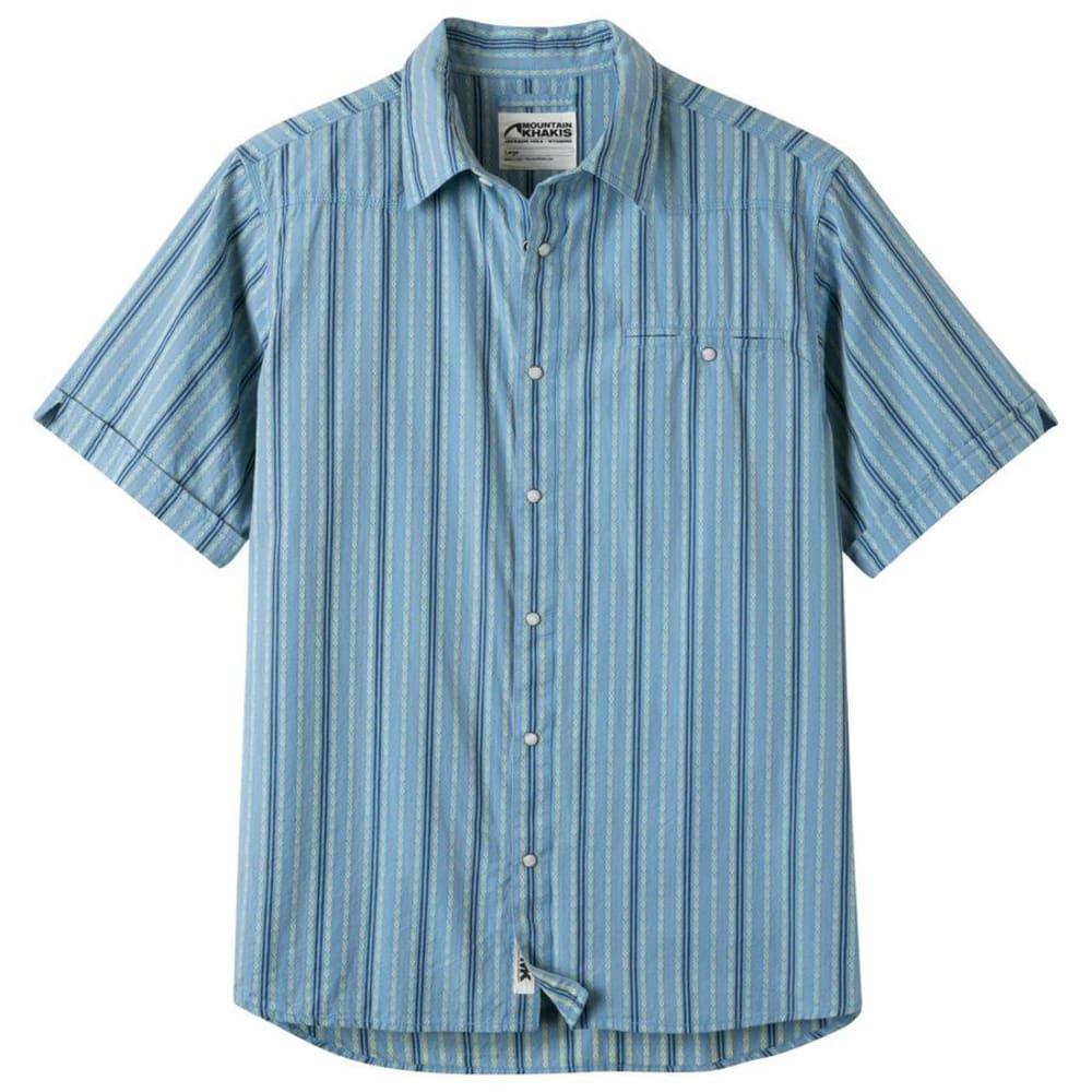 MOUNTAIN KHAKIS Men's El Camino Short-Sleeve Shirt - 733 HERON