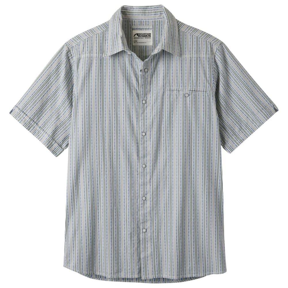 MOUNTAIN KHAKIS Men's El Camino Short-Sleeve Shirt - 466 POWDER