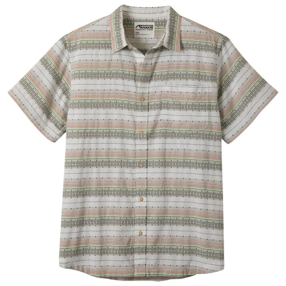 MOUNTAIN KHAKIS Men's Horizon Short-Sleeve Shirt - 146 LINEN