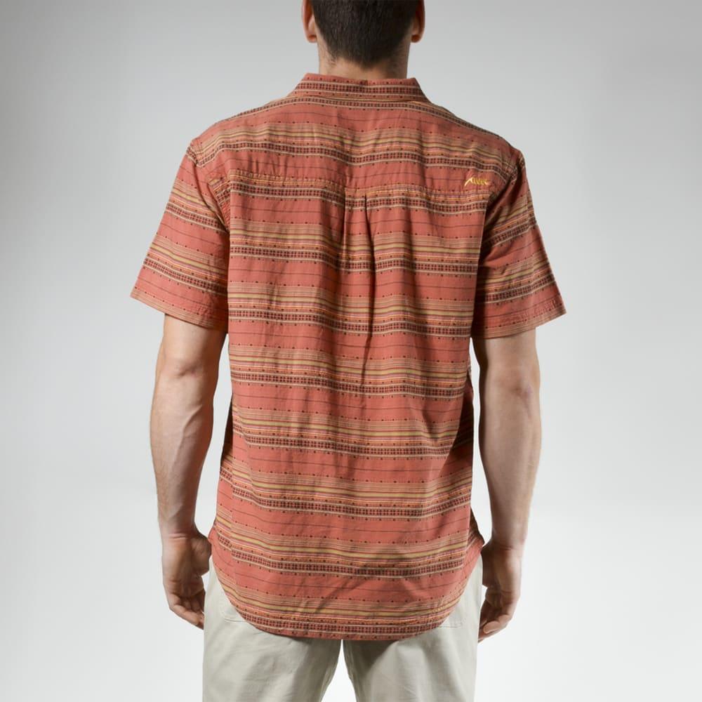 MOUNTAIN KHAKIS Men's Horizon Short-Sleeve Shirt - 583 ROJO