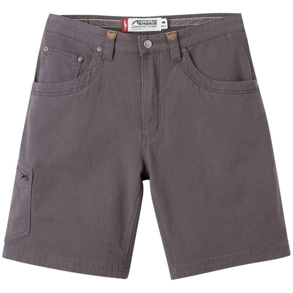 MOUNTAIN KHAKIS Men's Camber 107 Short Classic Fit - 178 SLATE