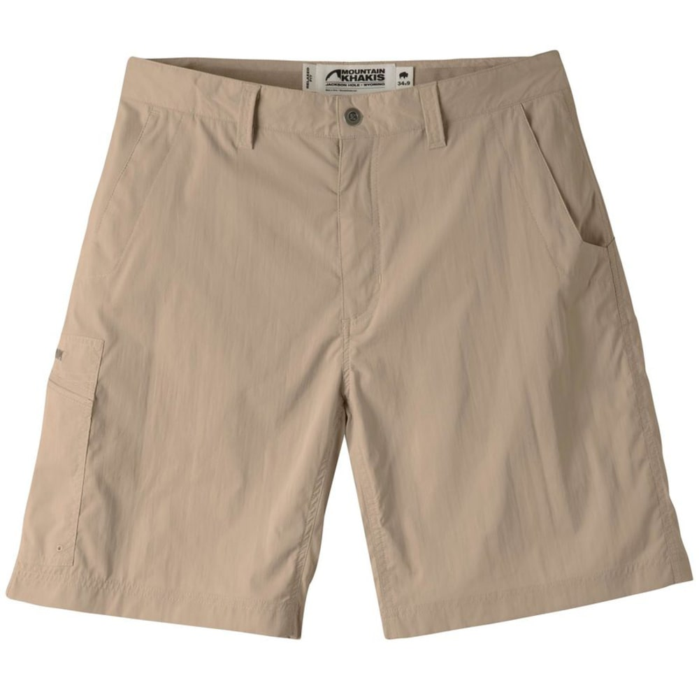 MOUNTAIN KHAKIS Men's Equatorial Stretch Short Relaxed Fit - 118 KHAKI
