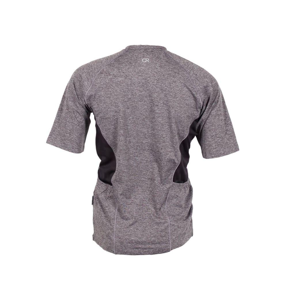 CLUB RIDE Men's Tune Knit Jersey Shirt - ASPHALT