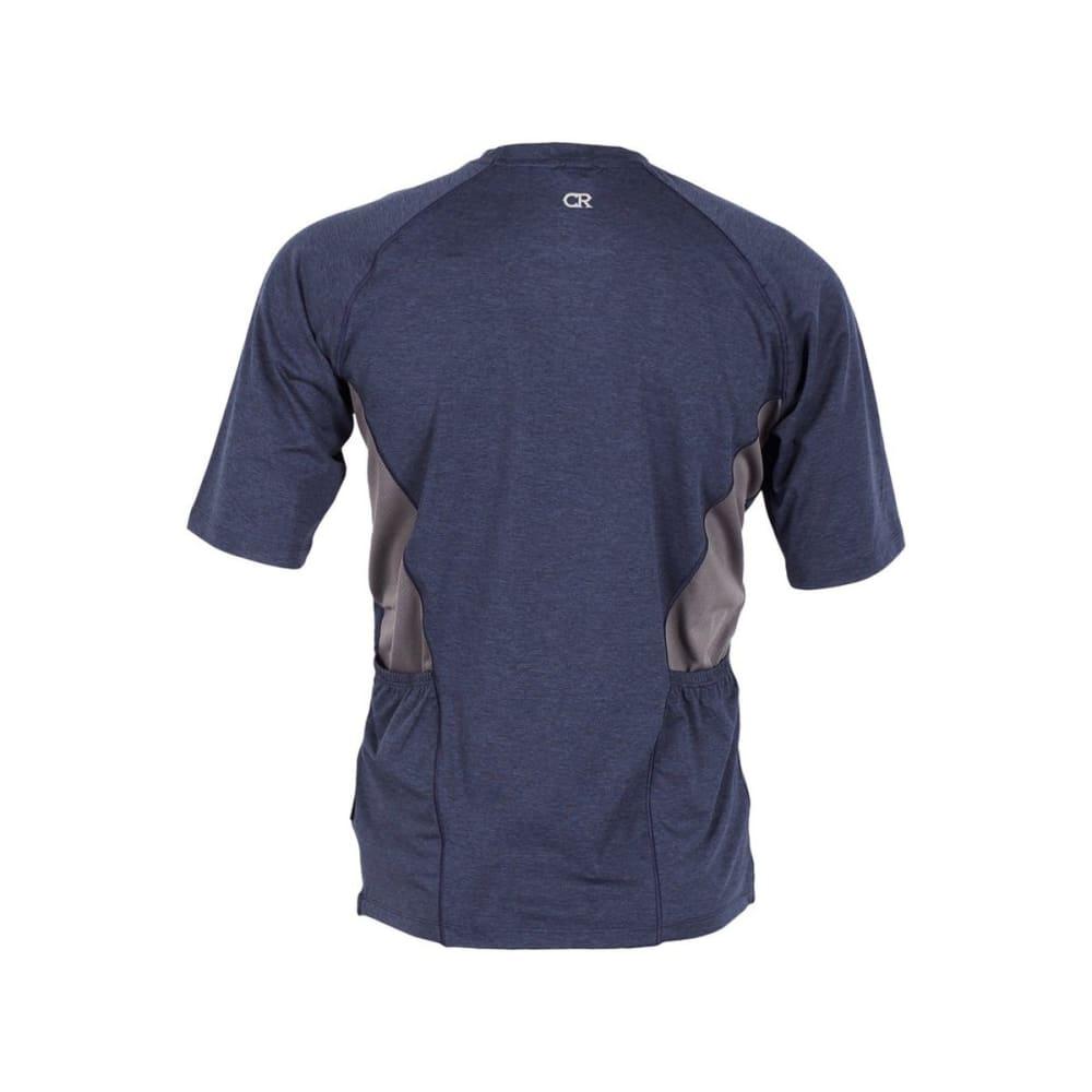 CLUB RIDE Men's Tune Knit Jersey Shirt - NAVY