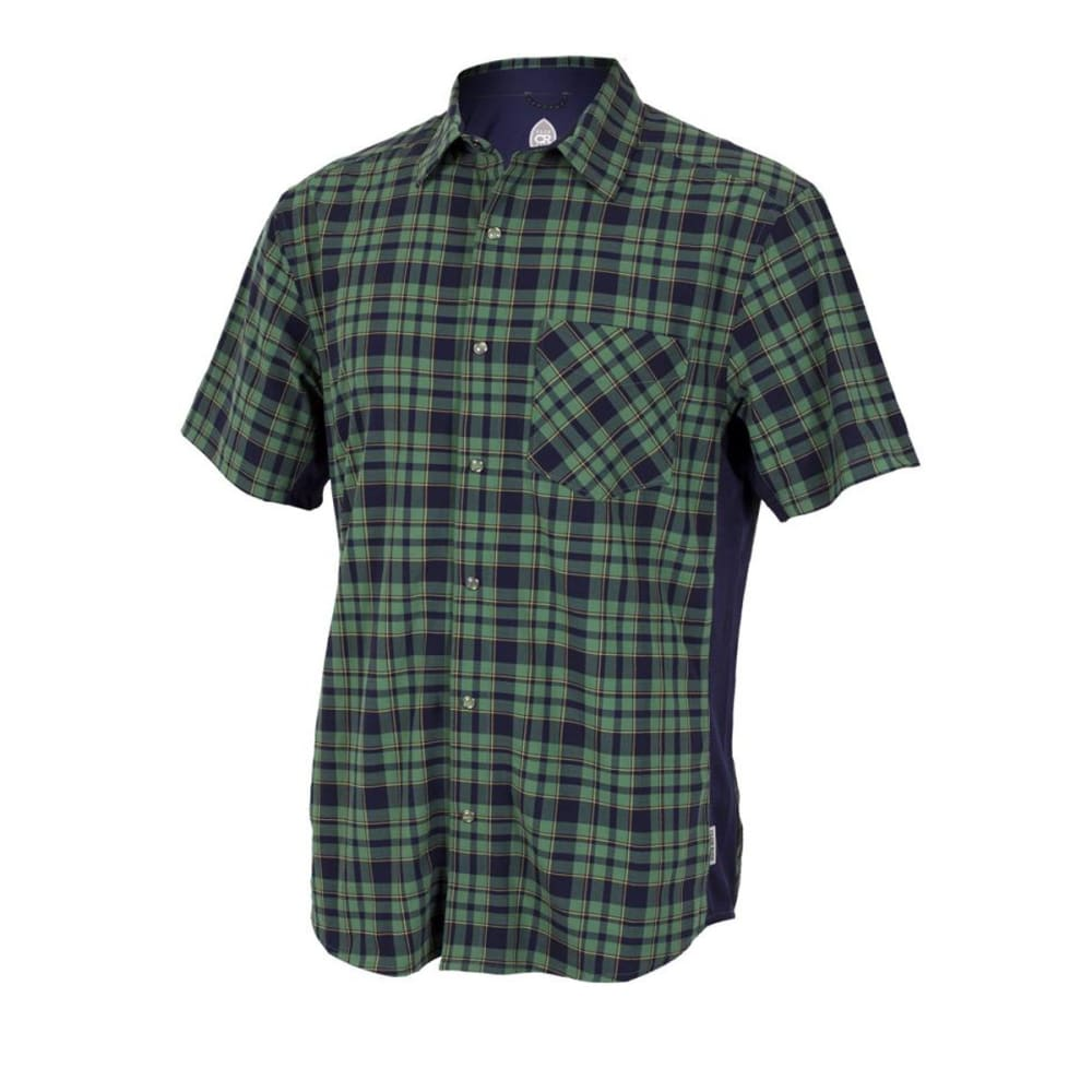 CLUB RIDE Men's Detour Shirt - NAVY