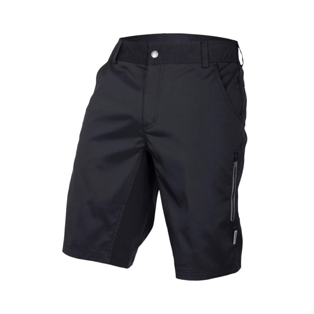 CLUB RIDE Men's Fuze Shorts W/ Gunslinger Innerwear - RAVEN