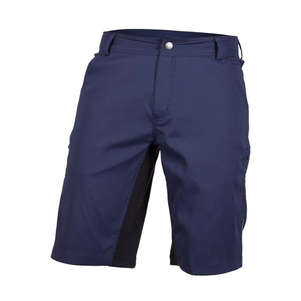 CLUB RIDE Men's Fuze Shorts W/ Gunslinger Innerwear - NAVY