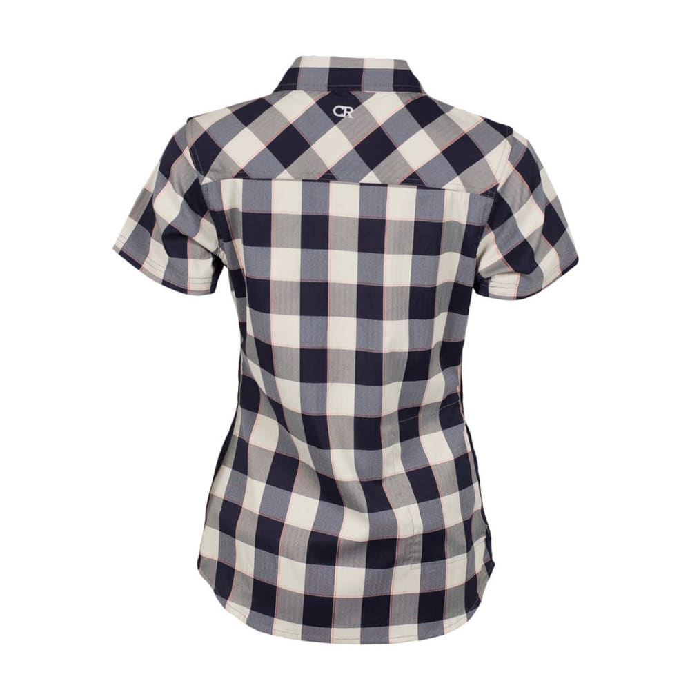 CLUB RIDE Women's Bandara Bike Shirt - NAVY PLAID