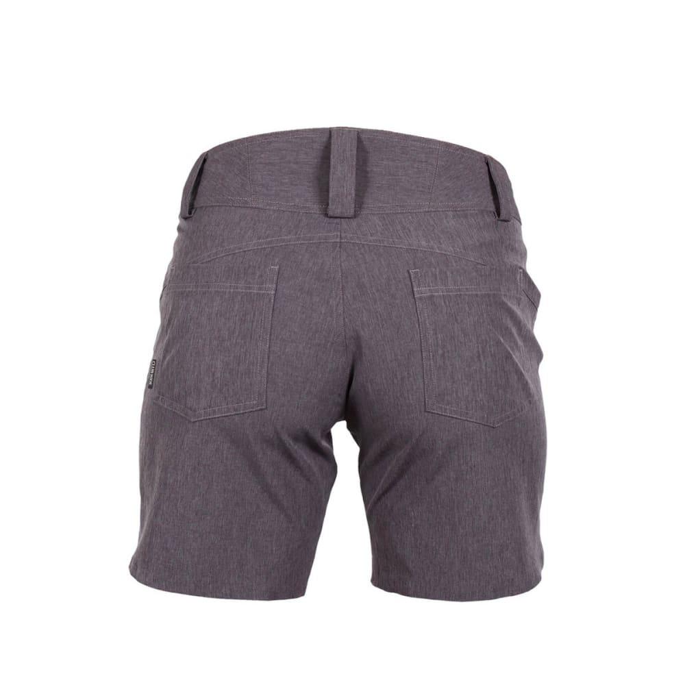 CLUB RIDE Women's Eden W/ Damselcham Liner Shorts - ASPHALT