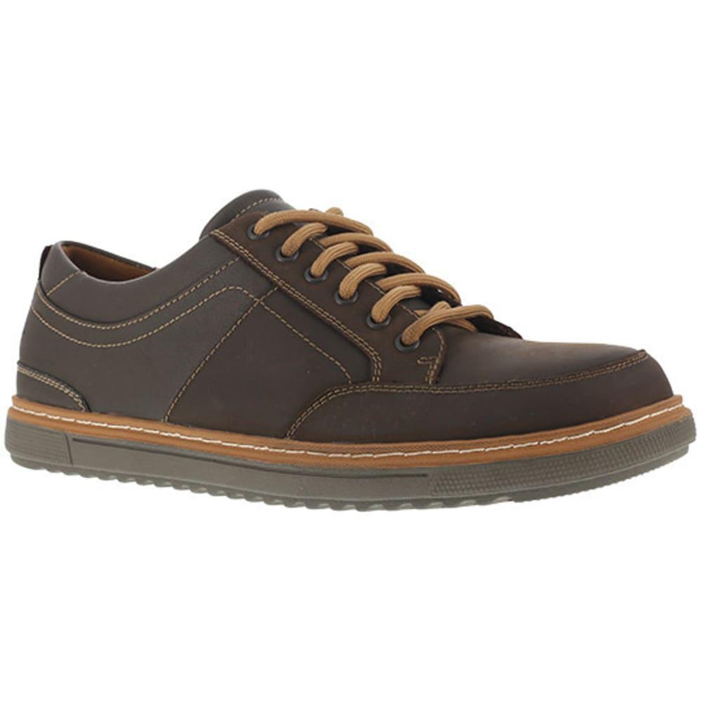 FLORSHEIM WORK Men's Gridley Steel Toe Urban Casual Oxford Shoe, Brown - BROWN