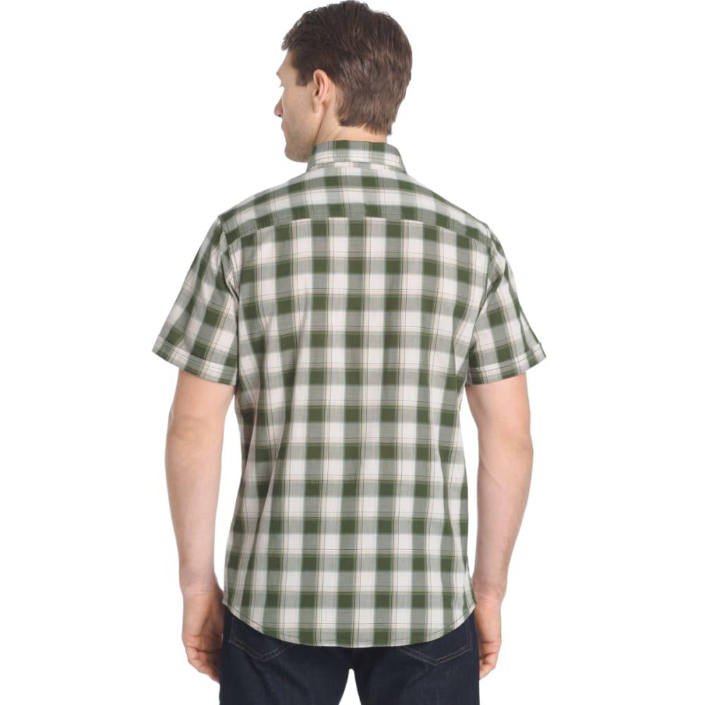 G.H. BASS & CO. Men's Madawaska Short-Sleeve Trail Shirt - BLACK FOREST-304