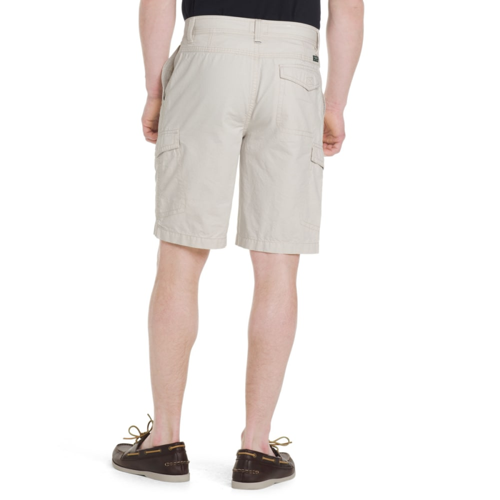 G.H. BASS & CO. Men's Jack Mountain Concealed Cargo Shorts - SILVER BIRCH-270