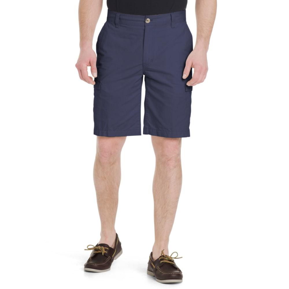 G.H. BASS & CO. Men's Jack Mountain Concealed Cargo Shorts - MOOD INDIGO-445