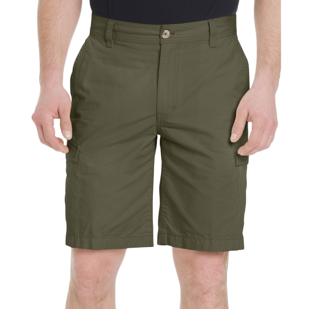 G.H. BASS & CO. Men's Jack Mountain Concealed Cargo Shorts - OLIVE NIGHT-314