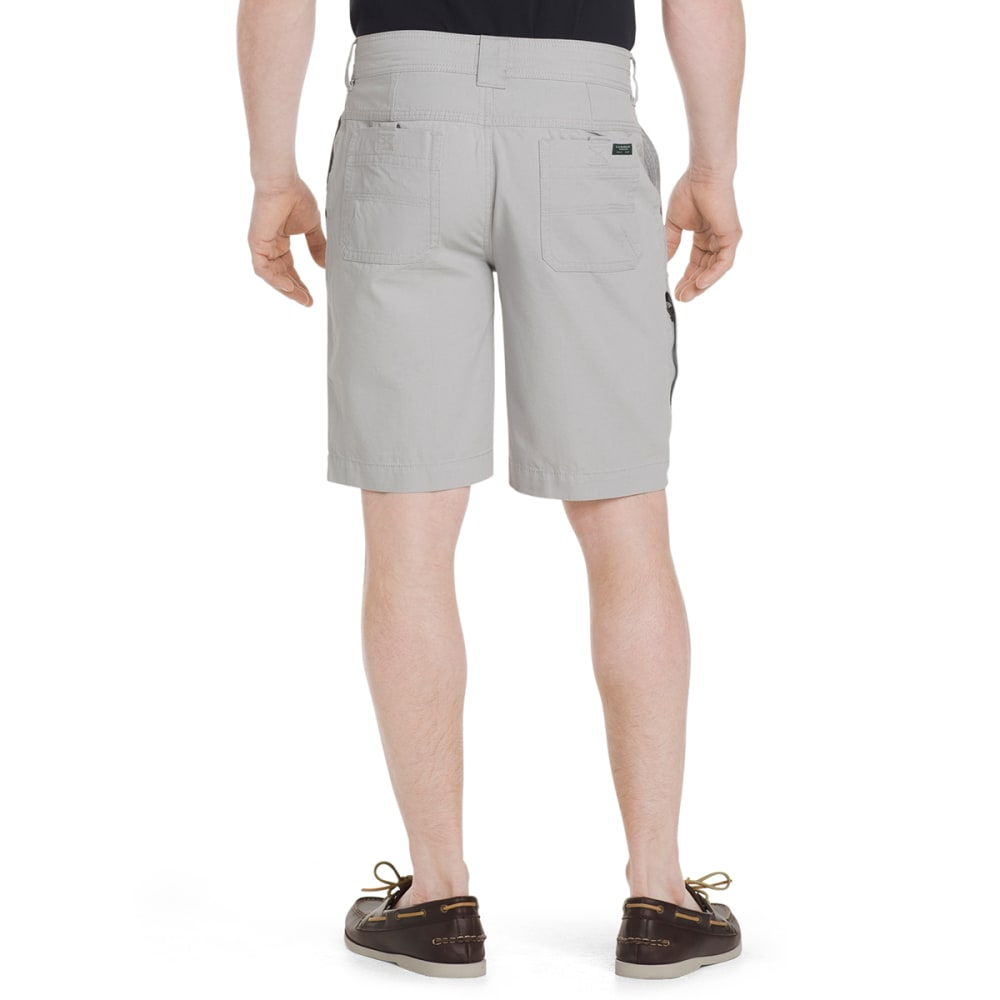 G.H. BASS & CO. Men's Canvas Terrain Shorts - HIGH RISE-050